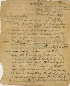 Devaiah's Last Letter - Page 1