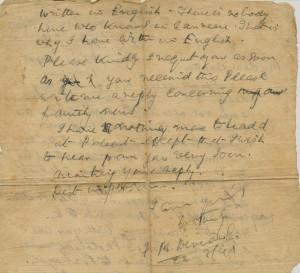 Devaiah's Last Letter - Page 2