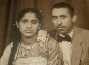 Mrs. Kaveriamma & late Nb Sub B.N. Ayyappa.