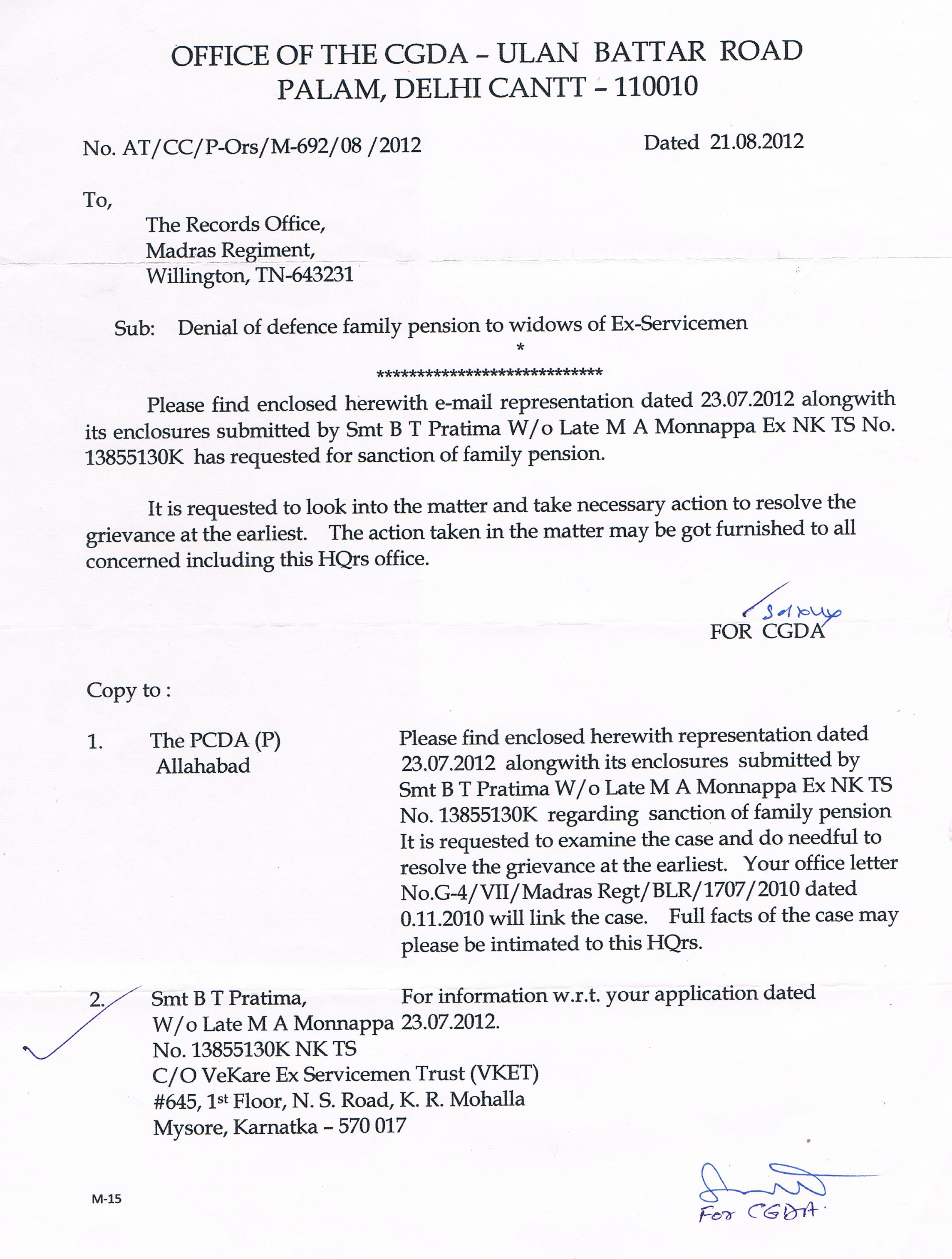 005 CGDA Reply Ltr 21.08.2012