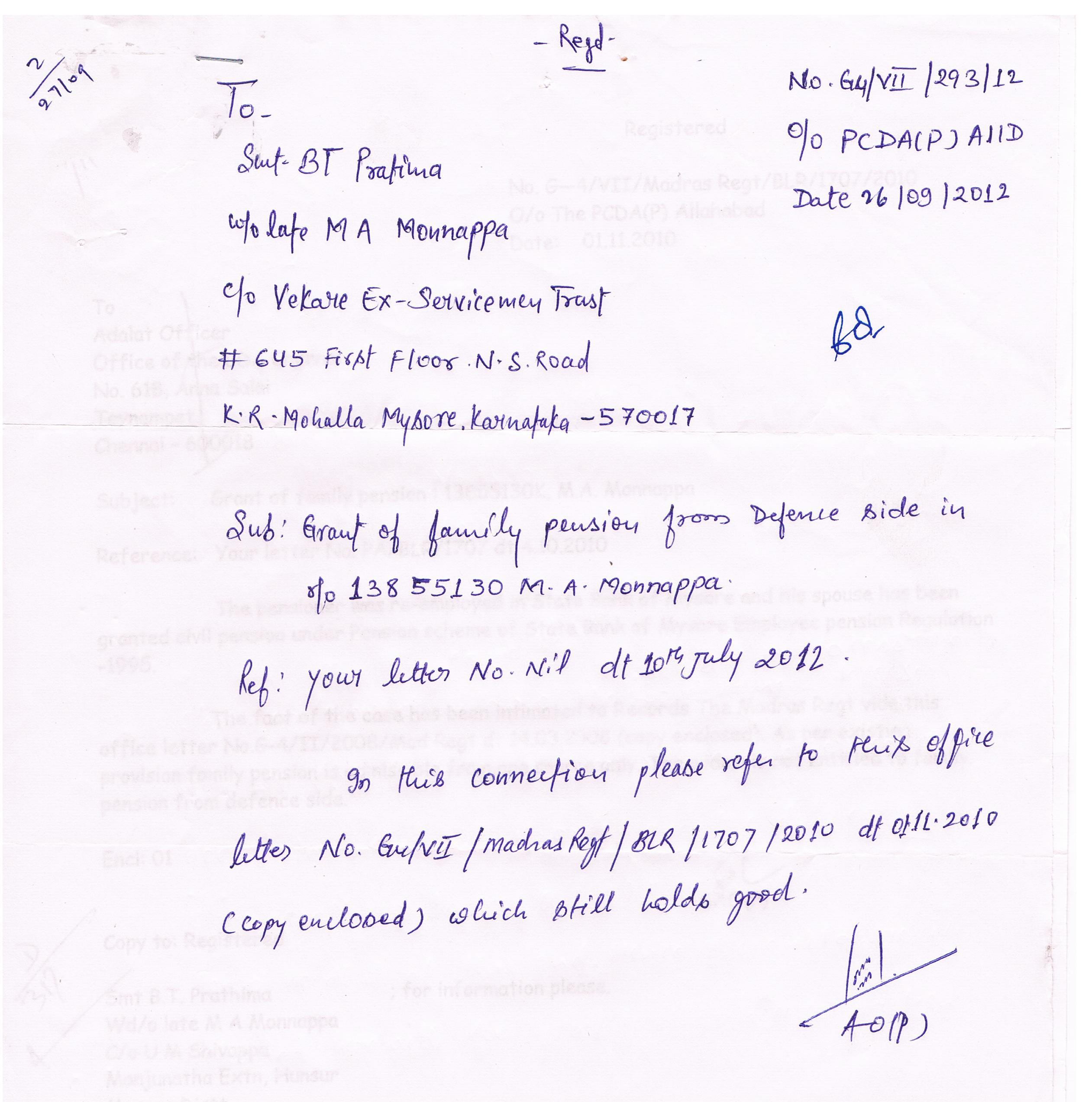 007 PCDA(P) Reply Ltr 26.09.2012